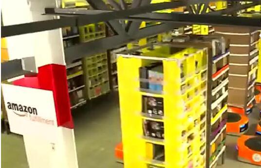 三大电商的仓库机器人震撼视频,智能包装时代来临